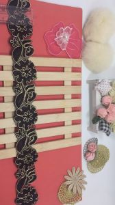New Design 4.5cm Width Coiling Embroidery Trimming Lace for Garments Accessory & Home Textiles & Curtains pictures & photos