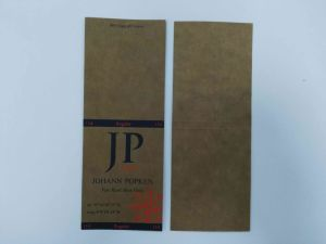 Kraft Paper Garment Waist Tag pictures & photos