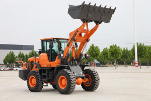 High Quality 3 T Wheel Loader with Cummins Engine (1.8-3.0m3) pictures & photos