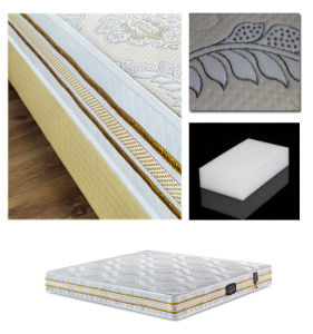 High Carbon Bonnell Spring Mattress for Baby Sleep Well pictures & photos