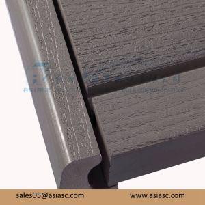 Outdoor Waterproof Wood-Plastic Composite Solid Decking Floor pictures & photos