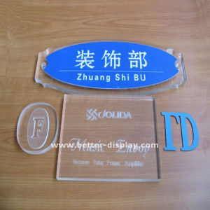 Clear Acrylic Cut Letters for Signs on Wall pictures & photos
