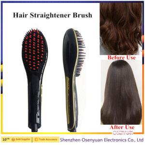 Best Quality Steam Hair Straightener Brushes pictures & photos