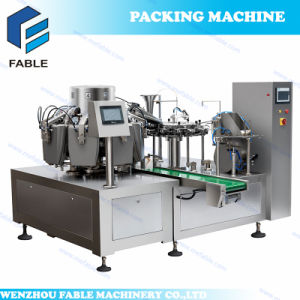 Pre-Pouch Vacuum Packing Line for Meat pictures & photos