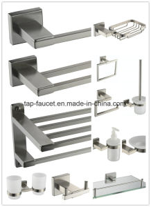 Solid Stainless Steel 304 Precision Brushed Anticorrosive Basin Faucet pictures & photos