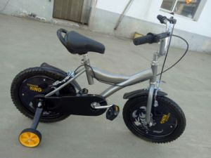 Gray Child Bike with Wheels Cards pictures & photos