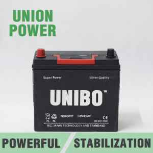 Mf Auto Battery Ns60 Mf 12V45ah High Performance JIS Car Battery pictures & photos
