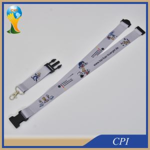 Promotion Heat Transfer Printing Logo Lanyard pictures & photos