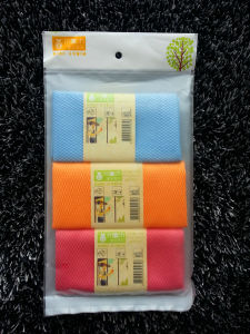 Microfiber Cleaning Towel Cloth Cleaning Hand Towel China Manufacture Factory pictures & photos