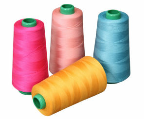 High Quality 40/2 Polyester Sewing Thread 4000yards pictures & photos