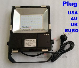 110lm/W IP65 Wateproof Outdoor 30W LED Flood Lighting with Us EU UK Au Plug pictures & photos