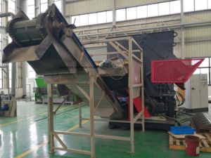 High Efficiency Heavy Duty Single Shaft Shredder for Tires pictures & photos
