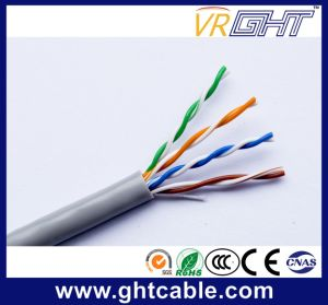 China Hot Sale 25AWG CCA Indoor UTP Cat5e LAN Cable pictures & photos