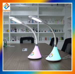 Flexible LED Bedside Reading Table Lamp with Touch Dimmer pictures & photos
