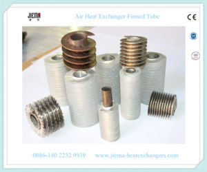 SUS 304# Aluminum Copper Extruded Finned Tube for Air Heat Exchanger pictures & photos