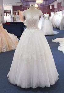 High Quality Delicate Top Sale Real Pictures Wedding Dress pictures & photos