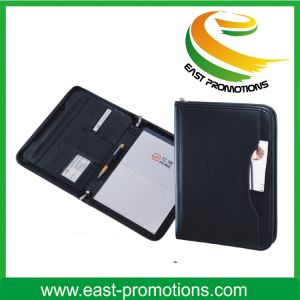 New Expandable Leather Portfolio A4 Planner Organizer pictures & photos