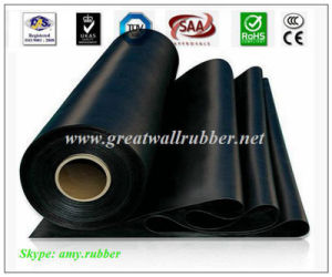 SBR+EPDM+NBR+Neoprene+Viton+Silicone Rubber Sheet Roll Flooring Mat pictures & photos