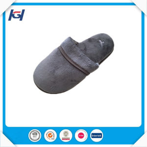 Soft Plush Warm Winter Foot Warmers Slippers for Men pictures & photos