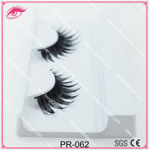 Makeup Human Hair Eyelashes with Eyelashes Box pictures & photos