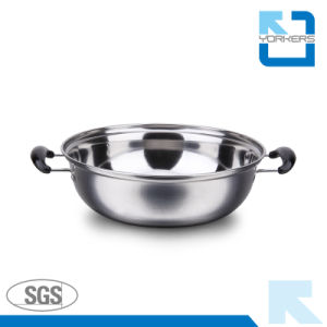 Stainless Steel Hot Pot and Stock/Soup/Cooking Pot pictures & photos