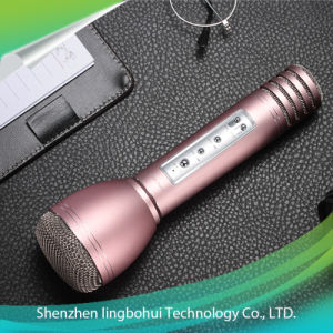 Karaoke Player Microphone Loudspeaker Portable Handheld Cordless pictures & photos
