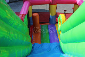 Clown Inflatable Bouncy Slide for Kids Chsl1103 pictures & photos