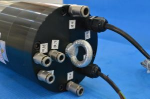 Bt30 5.5kw Water-Cooling Atc Spindle Motor (GDL120-30-18Z/5.5) pictures & photos