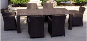 Garden Patio Wicker / Rattan Furniture Dining Set (LN-045) pictures & photos