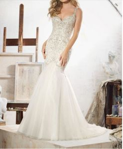 Crystal Beaded Embroidery 2017 Bridal Wedding Dresses CT707 pictures & photos