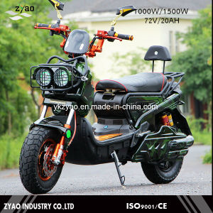 72V 1000W Vespa Electric Scooter, 2 Wheel Electric Standing Scooter for Sale pictures & photos