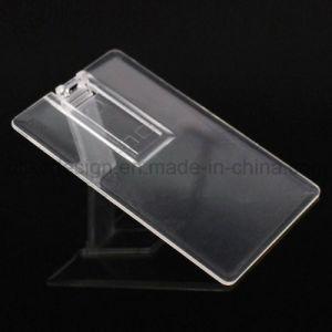 Transparent Card Type USB Flash Drive (UL-P026) pictures & photos