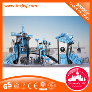 Windmill Theme Plastic Toy Playground Outdoor Play Equipment for School pictures & photos