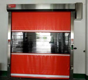2017 Industrial Workshop High Speed Roller Shutter Rapid Fast Rolling Door (Hz-FC0130) pictures & photos