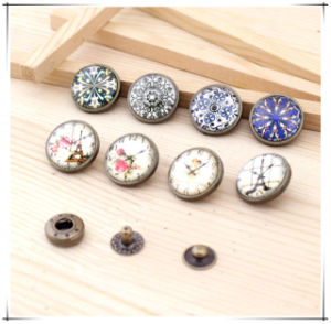 DIY Accessories 18mm Round Metal Snap Button for Garment