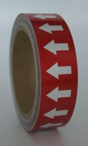 Pipe Markers Labels Glass Beads Reflective Tape with Back Adhesive pictures & photos