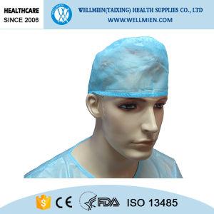 Colorful Die Cut Non-Woven Cap for Doctors pictures & photos