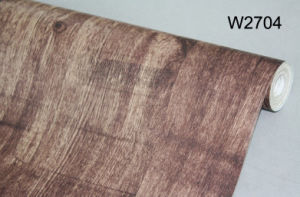 Wood Grain PVC Film for Furniture pictures & photos