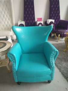 Popular Hotel Colorful Leather Chair Modern Leisure Chair with PU Leather pictures & photos