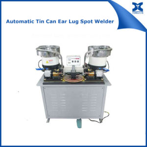 Automatic Paint Can Ear Lug Spot Welding Machinery pictures & photos