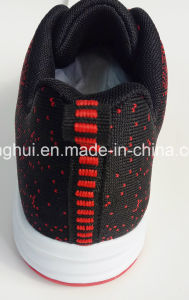 Fly Knit Material Light Weight Sport Shoes Running Shoes Footwear Sports Shoes pictures & photos