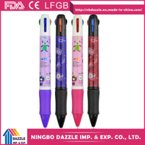 Multi Color Pens Ballpoint Multi Ink Ball Pen pictures & photos