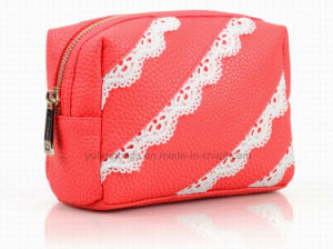 Girl′s Fashion Soft PU Cosmetic Bags, Handbag, Lady Bag, Promotion Bag Yf-CB1603 pictures & photos