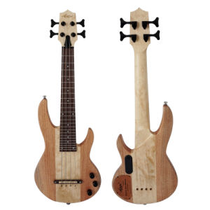 Aiersi New All Solid Mahongany Bass Ukulele Miniature Instruments pictures & photos