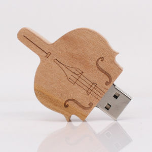 High Speed Custom Wood USB Flash Drive with OEM Logo pictures & photos