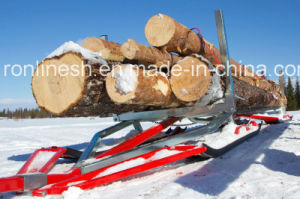 Snow Sleigh Trailer/Tandem Timber Sleigh/Snow Sledge/Timber Ski Sled/Snow Sled Trailer/Universal Sleigh/Utility Sleigh/Transport Sled/ for Atvs and Snowmobiles pictures & photos