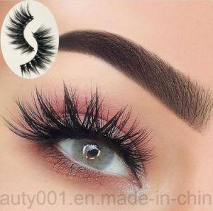1 Pair Mink Hair Cruelty Free False Eyelash Stylish Curly Black Long Handmade Lash