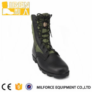 Goodyear Genuine Leather Black Army Military Jungle Boots pictures & photos