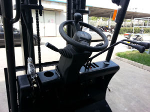 1.5ton Electrical Forklift Used Forklift for Sale (CPD15FJ) pictures & photos