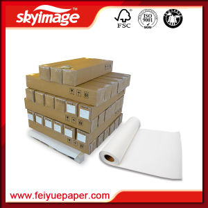 High Ink Load 105GSM 2, 500mm*98inch High Tacky Roll Sublimation Transfer Paper for Wide Format Inkjet Printing pictures & photos